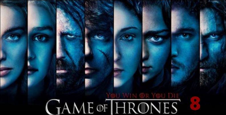 Игра престолов 8 сезон - дата выхода серий